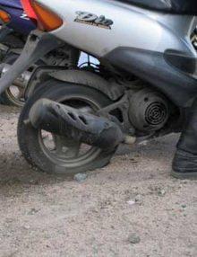 Калачеевские полицейские раскрыли кражу скутера