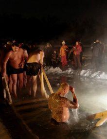 В районе уменьшили число купелей на Крещение (список мест массового купания)