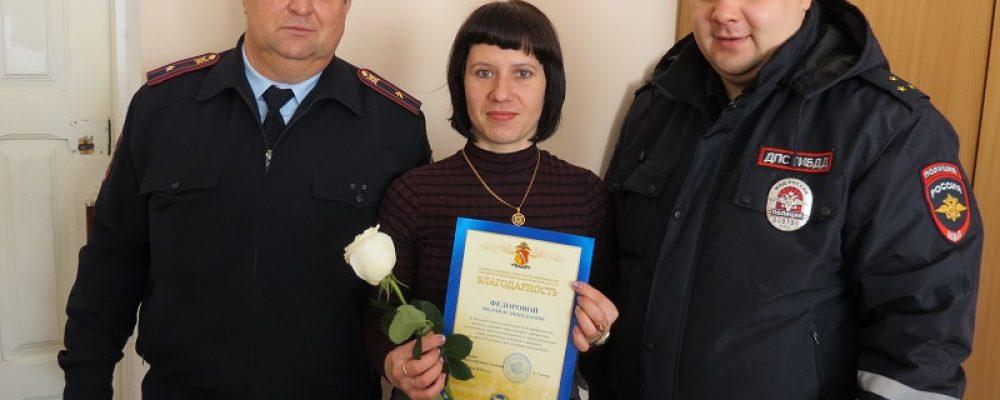Отряд ЮИД «Перекресток» и калачеевские полицейские отметили День создания отрядов ЮИД акцией по профилактике безопасности дорожного движения