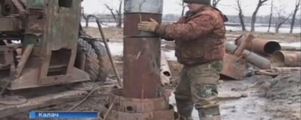 В Калаче бурят две новые скважины взамен отслуживших двойной срок