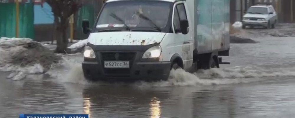 В одном из районов Воронежской области из-за половодья объявили режим ЧС