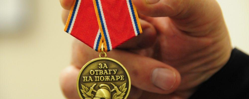 В калачеевском селе двух жителей наградили медалями «За отвагу на пожаре»