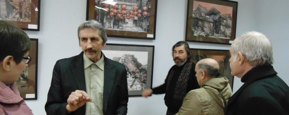 24 марта в РДК «Юбилейный» состоялось открытие выставки «Китай глазами художника»