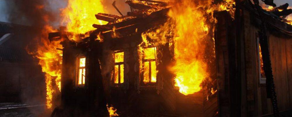 В селе Заброды крупный пожар унёс жизни двух пенсионеров