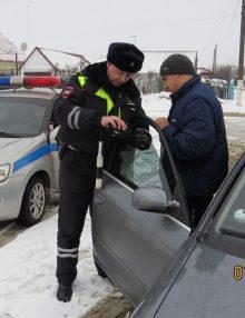На территории Воронежской области проводилось профилактическое мероприятие «Маршрутное такси»