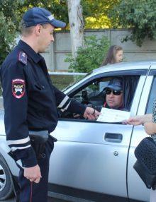 Калачеевские полицейские провели рейды по проверке тонированных автомобилей