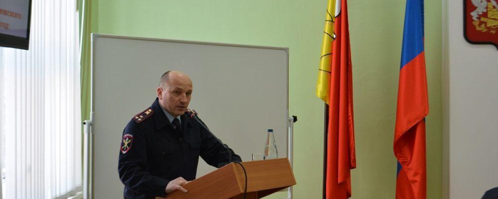 Начальник отдела МВД России по Калачеевскому району отчитался перед депутатами