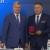 Медалью ордена «За заслуги перед Отечеством» 2 степени Александр Гусев наградил Михаила Гринёва