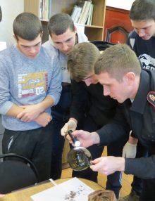 «Студенческий десант» побывал в отделе МВД России по Калачеевскому району