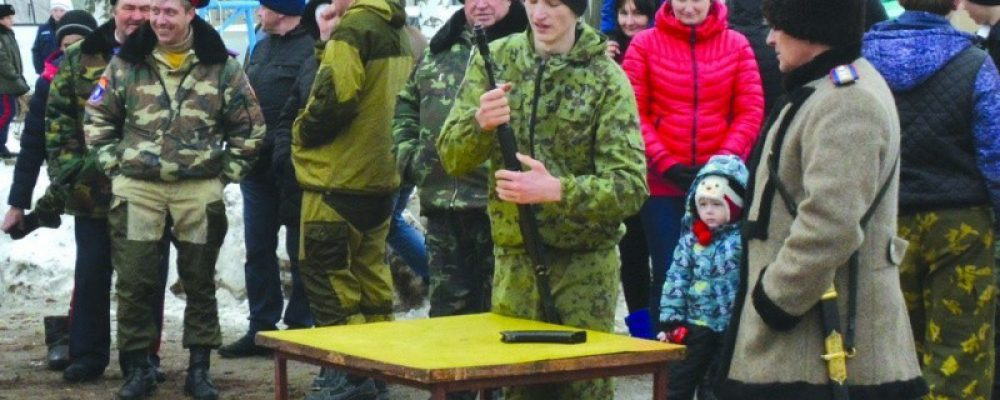 Наш город посетили казаки из Верхнемамонского, Петропавловского и Павловского районов