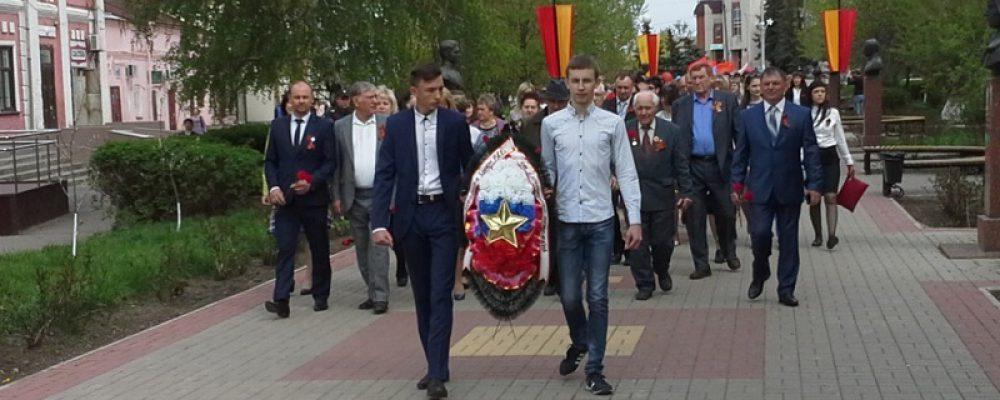 Вахту памяти посвященную 72 годовщине Великой Победы открыли первого мая