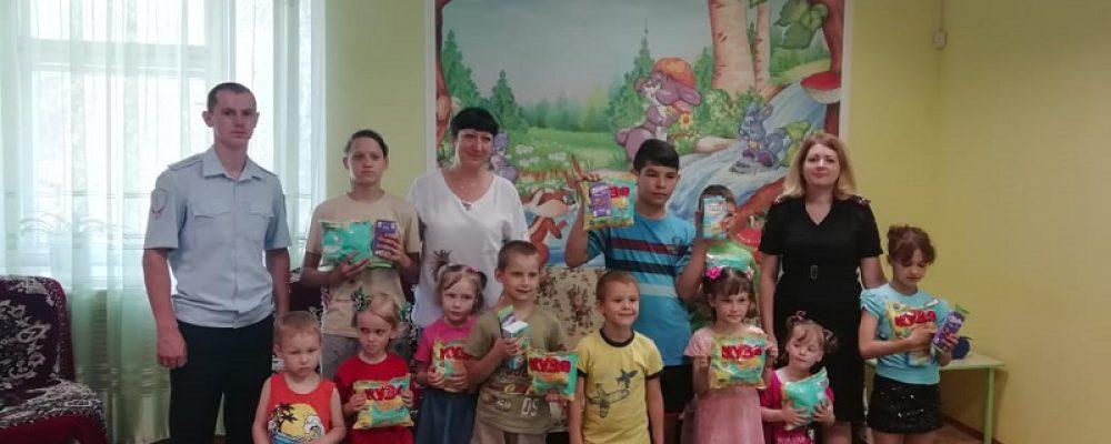 Калачеевские полицейские посетили социально-реабилитационный центр для несовершеннолетних