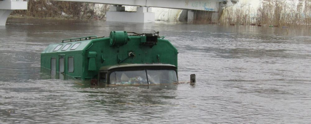 В терпящем бедствие Калачеевском районе затопило 90 домов и 400 дворов