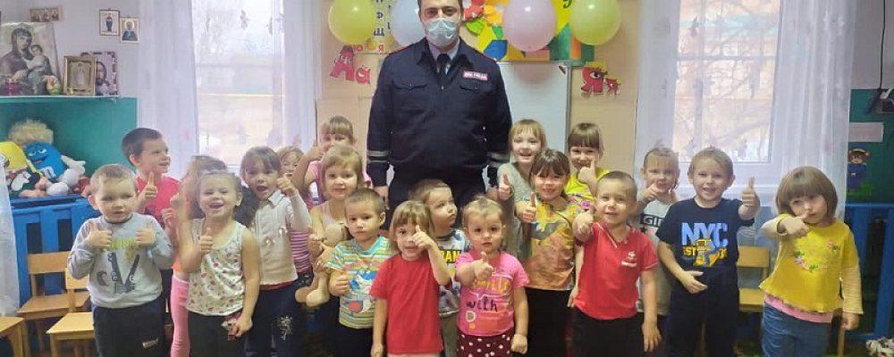 ОГИБДД по Калачеевскому району провели профилактическое занятие по Правилам дорожного движения