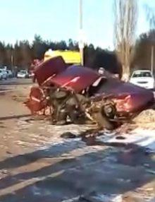 На 2 км автодороги «Павловск-Калач-Петропавловка» в районе ул. Магистральной с.Заброды произошло ДТП