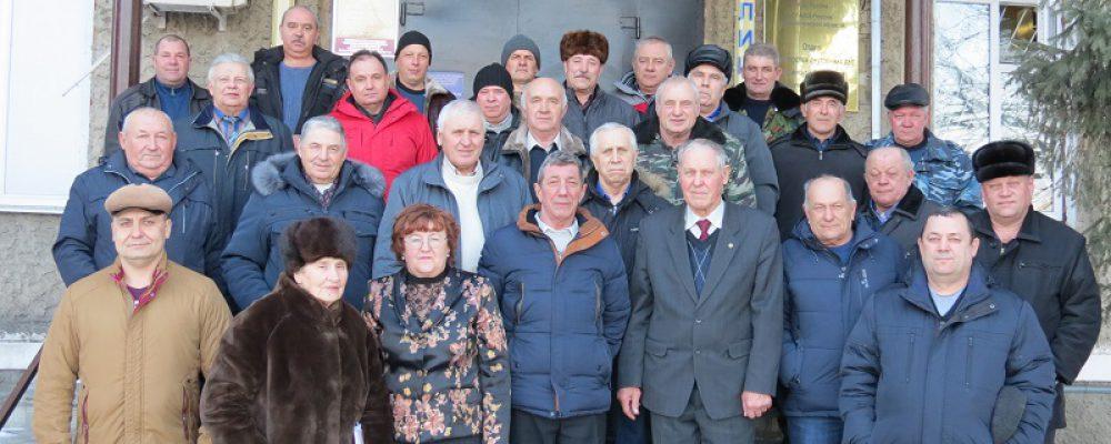 Члены Совета ветеранов ОМВД России по Калачеевскому району провели отчетно-выборное собрание