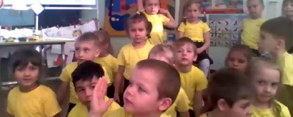 В МБДОУ «Центр развития ребенка-детский сад №7» в дистанционном формате, прошла встреча детей с государственным инспектором дорожного надзора