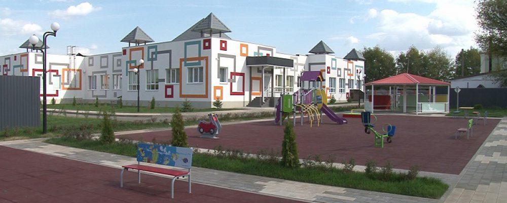 В Калачеевском районе открыли самый просторный сельский детсад
