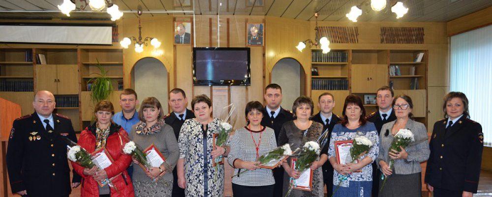 В ОМВД России по Калачеевскому району чествовали матерей сотрудников