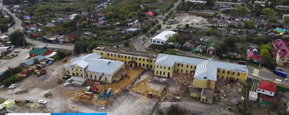 В Калаче отремонтируют здание школы XIX века (ВИДЕО)