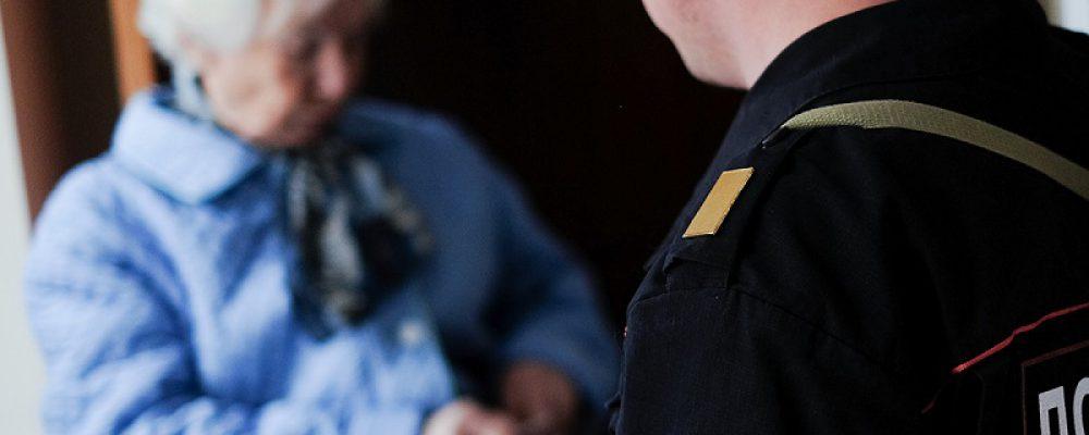 Калачеевские полицейские оказали помощь пенсионерке