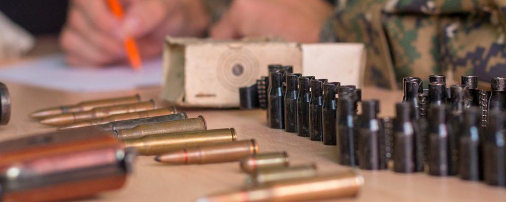 Калачеевские полицейские изъяли из незаконного оборота оружие и боеприпасы
