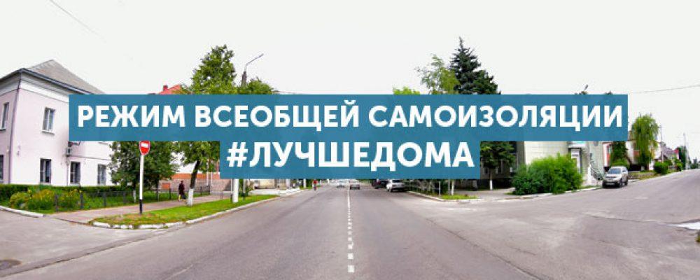 В Воронежской области введён режим самоизоляции