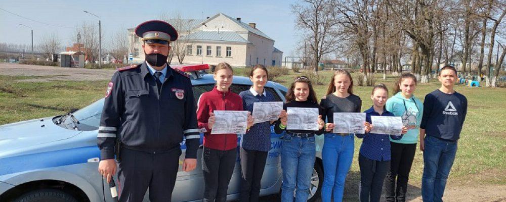 В Калачеевском районе продолжается проведение акции «Дорожный патруль безопасности»