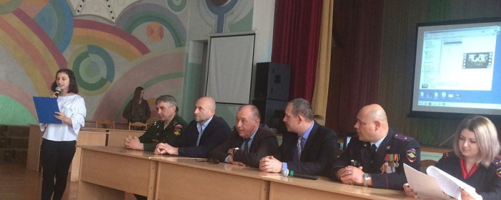 Калачеевские полицейские встретились с учащимися учебных заведений района на мероприятии по профориетированию