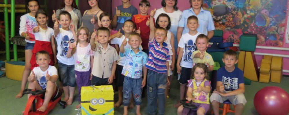 Калачеевские полицейские в рамках акции «Каникулы с Общественным советом» устроили праздник для детей