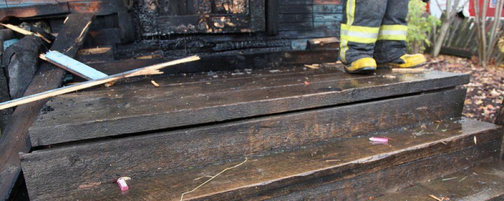Калачеевские полицейские возбудили уголовное дело по факту попытки поджога